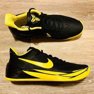 Nike Kobe AD PE Oregon Ducks Black Yellow Strike